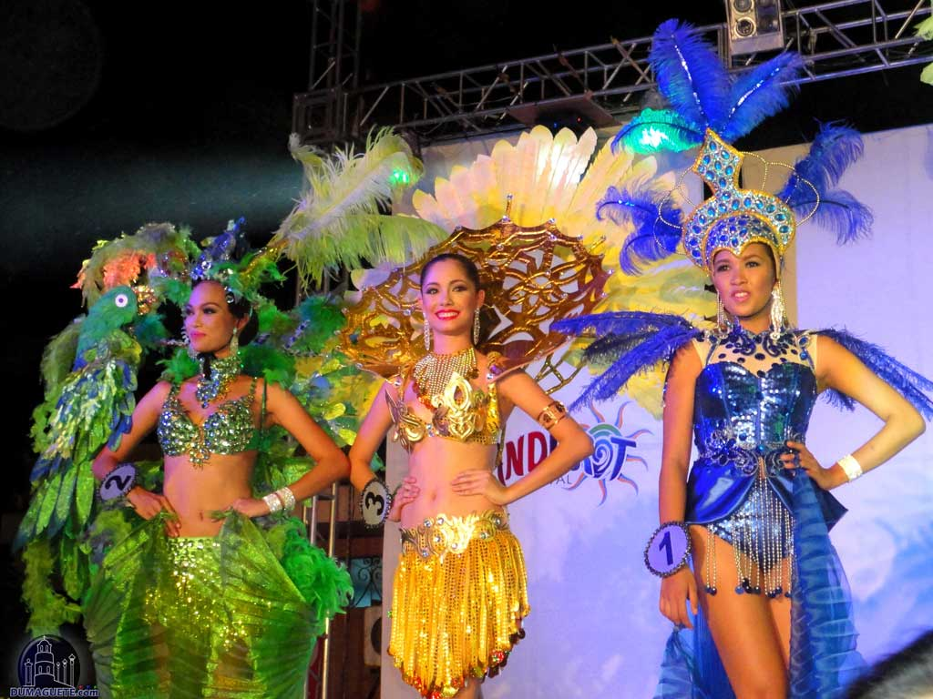 Miss Dumaguete 2013 - Wonderful Costumes at the Talent Night at Quezon Park