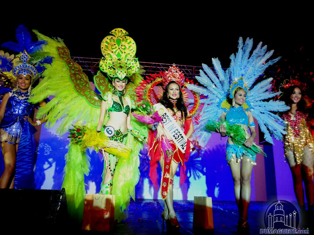 The Miss Dumaguete Magic Three Best in Talent