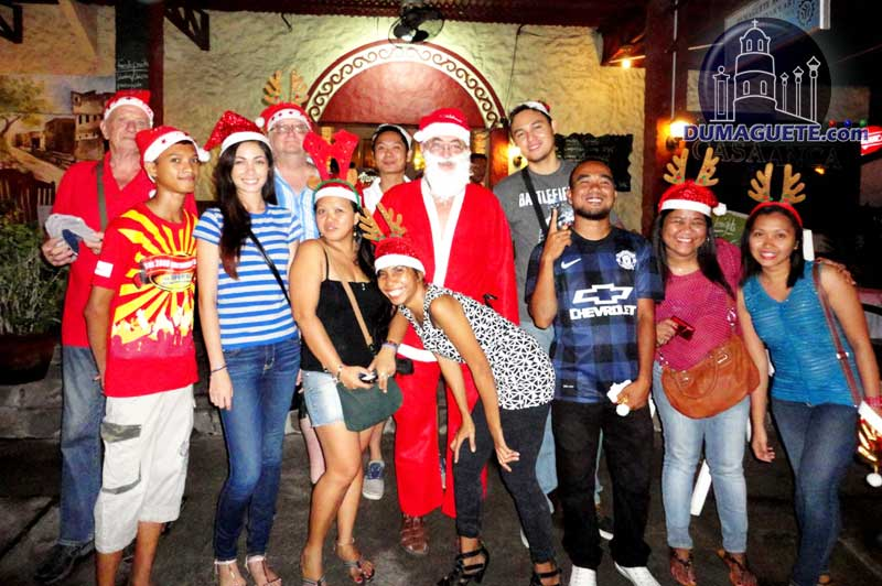 Dumaguete Project santa Thursday Club 2013