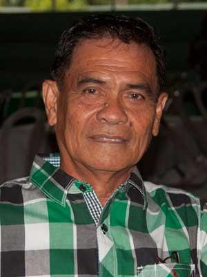 Barangay Captain Nicolas Ramirez
