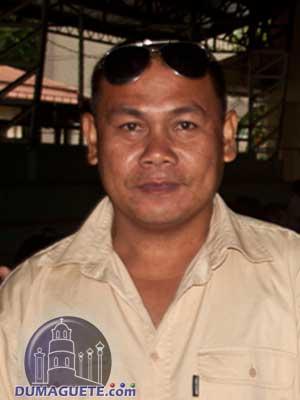 Barangay Captain Bartolome Aranas