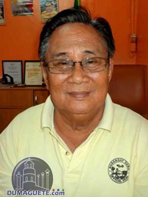 Barangay Captain Rogelio Siglos