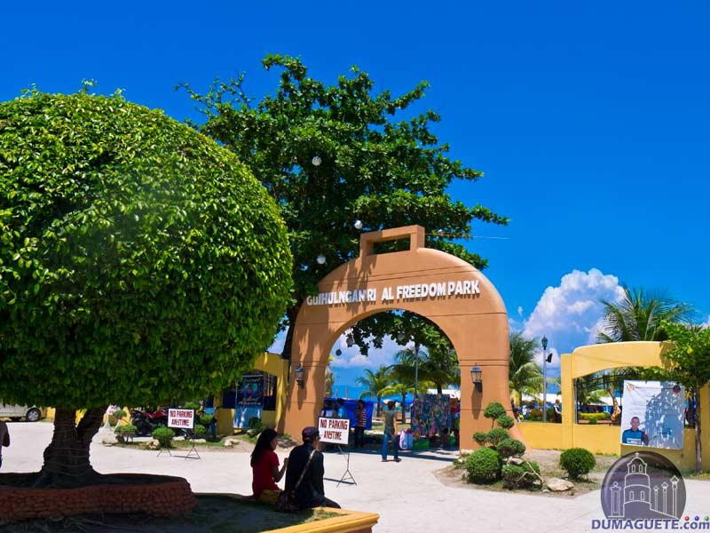 Guihulngan City - Freedom Plaza