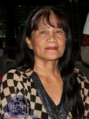 Barangay Captain Angelita Ragay