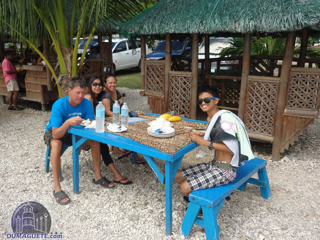 Lunch-in-front-of-the-cottage-at-the-a-resort-in-Oslob
