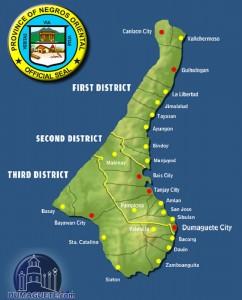 Cities & Municipalities of Negros Oriental