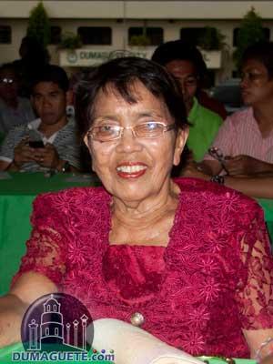 Barangay Captain Tomasa Amor