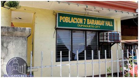 Barangay Hall Poplacion 7 - Mangga