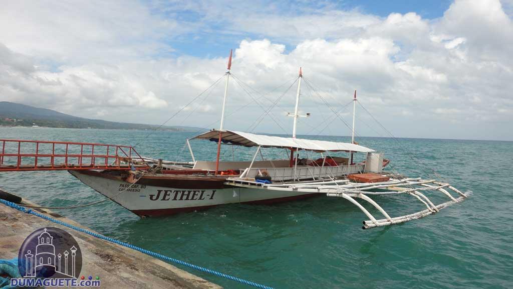 Pump boat Sibulan-Liloan