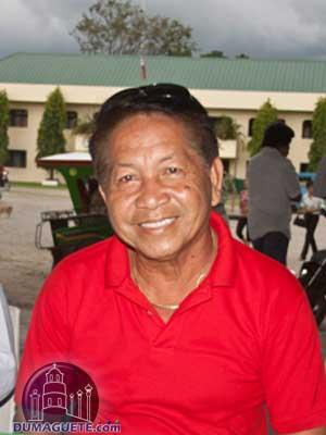 Barangay Captain Meliton Dionisio Caldamo