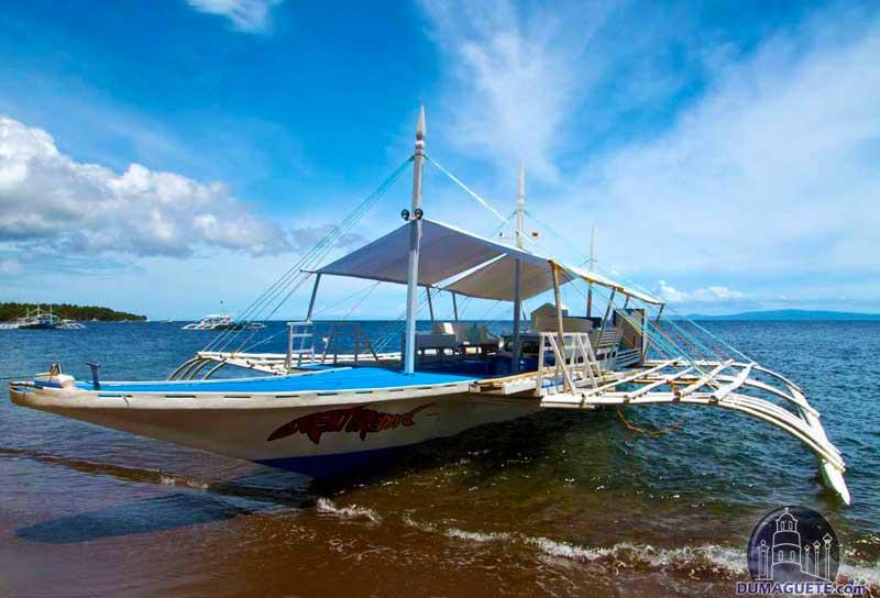 Beach in Dumaguete