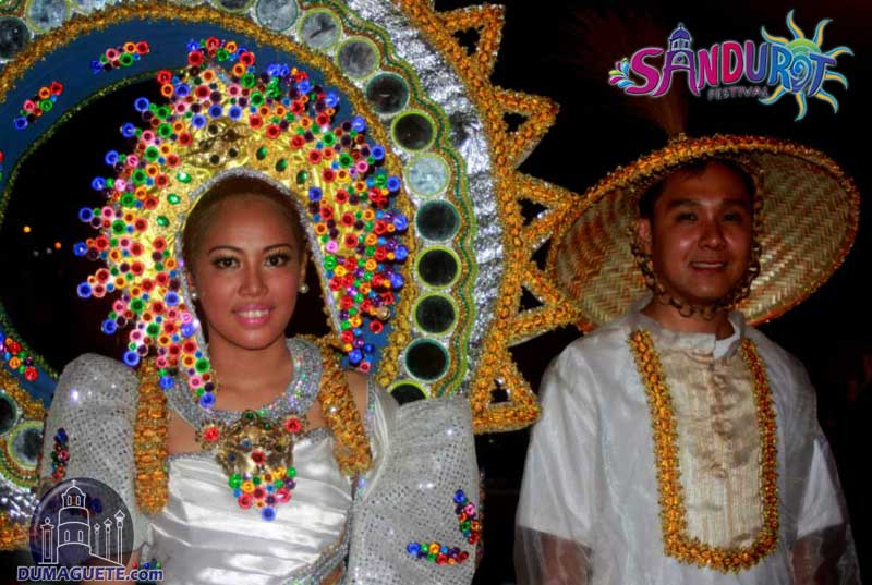Dumaguete Sandurot Festival queen and king
