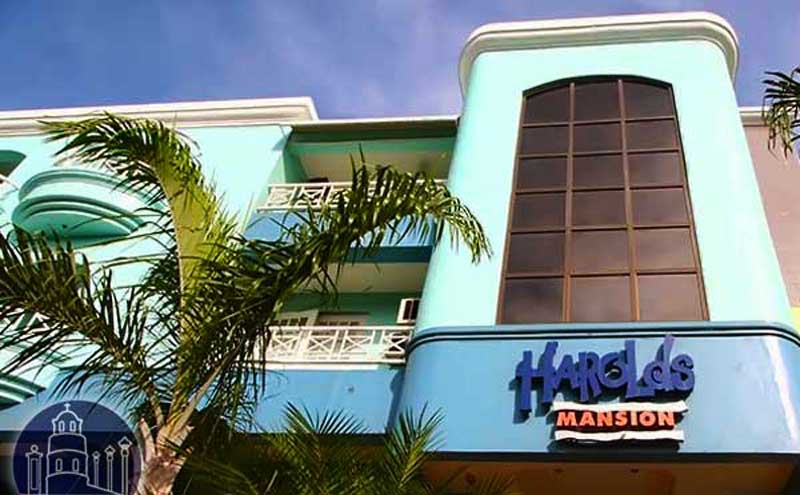 Harolds Mansion frontview Dumaguete