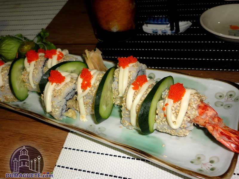 Mifune-Japanese-Restaurant-Dumaguete-Dragon-Roll