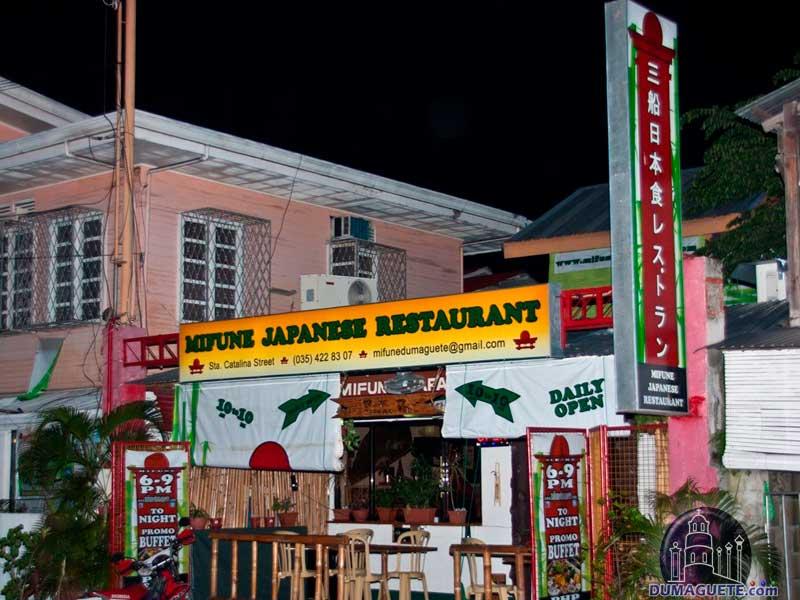 Mifune Japanese Resturant- Santa Catalina Street Dumaguete CIty