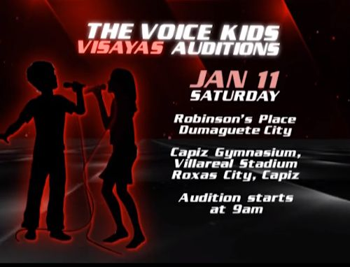 The Voice Kids Visayas Audition