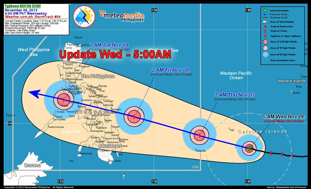 Haiyan Yolanda update-wed-5am