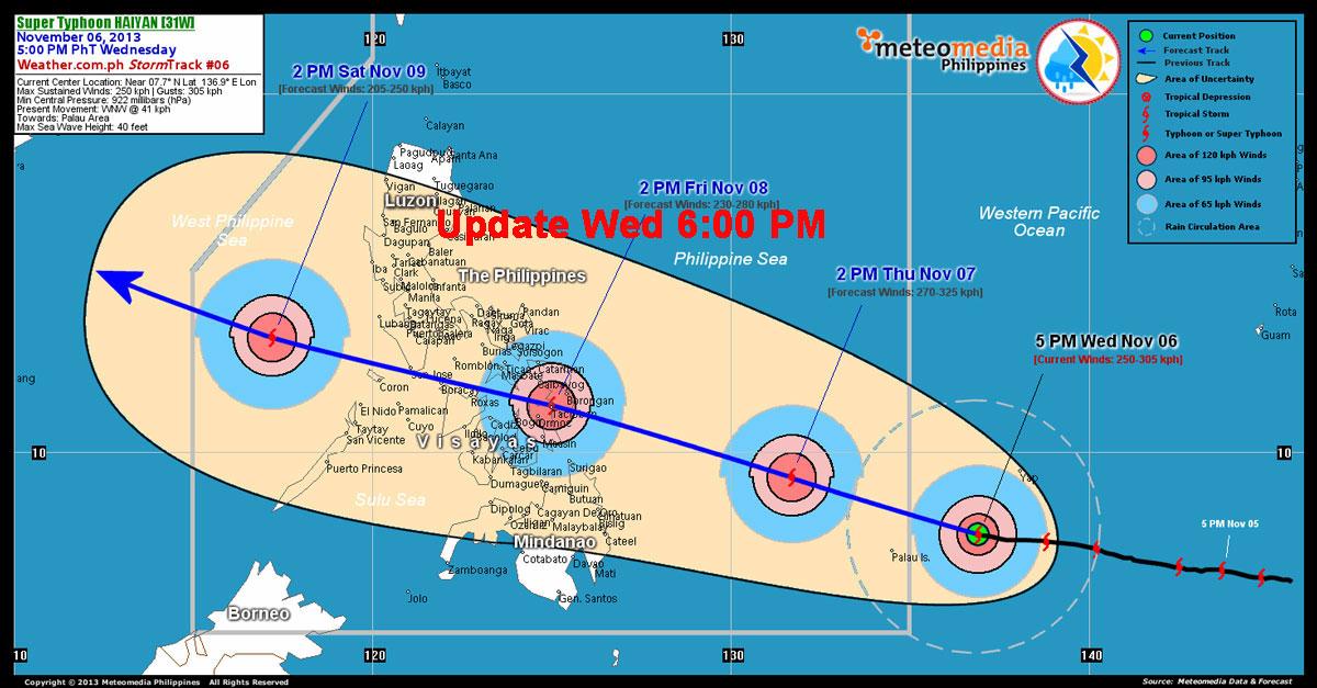 Haiyan Yolnada update wednesday -5pm