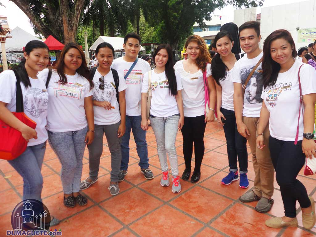 Nutrition Month Calmination at Quezon Park with silliman students