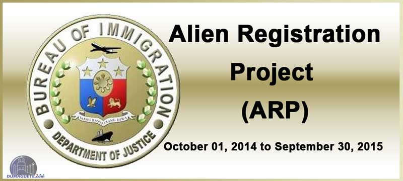 Alien Registration Project - ARP