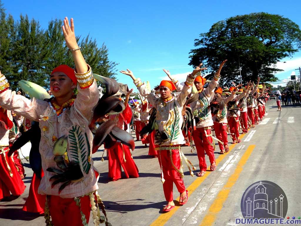 Sibulan yag yag festival in Dumaguiete