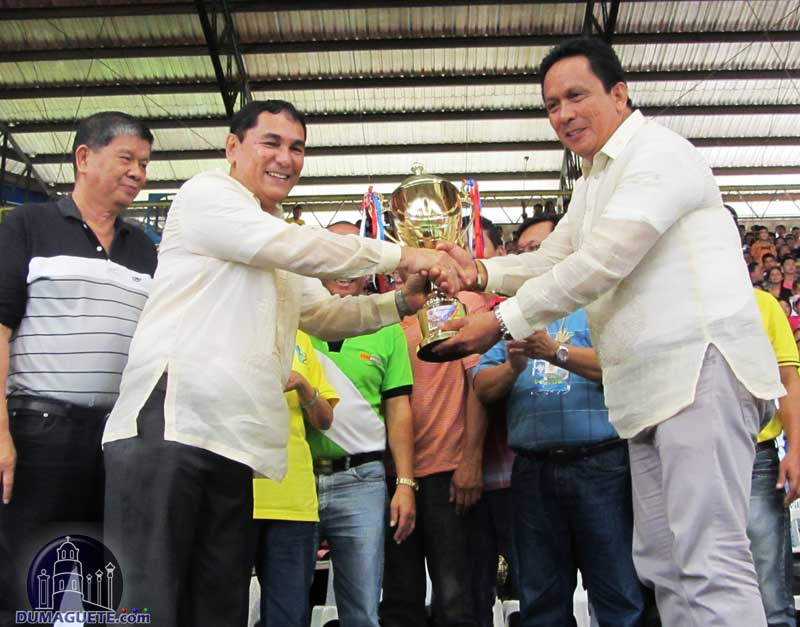 Trophy for Grand Slam Winner Sta. Catalina - Pakol Festival