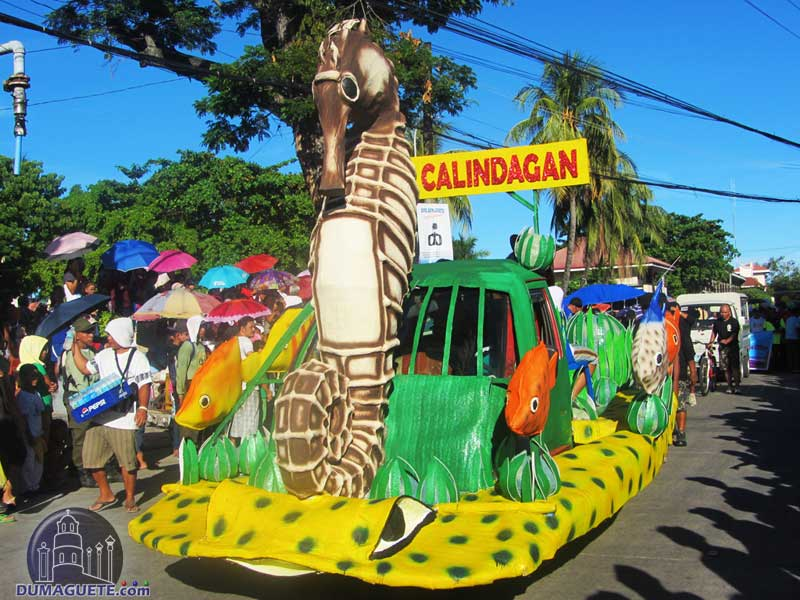 Float of Barangay Calindagan