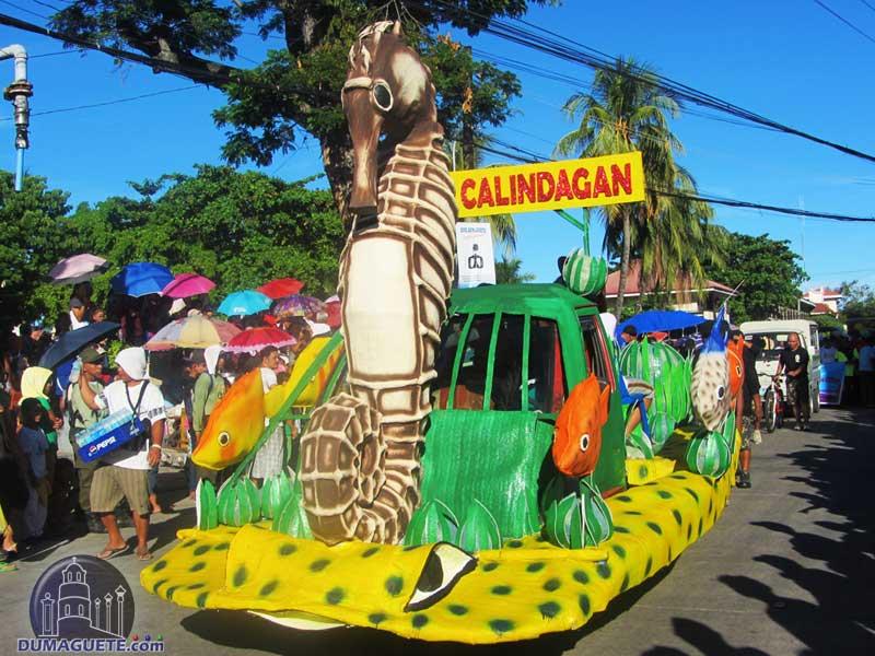 Float of Barangay Calindagan