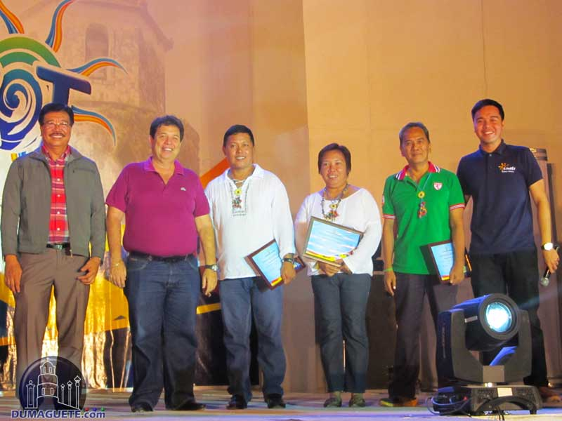 Folkdance Competition - Board of Judges with Mayor Sagarbarria & Woodrow Maquiling Sen and Jr.