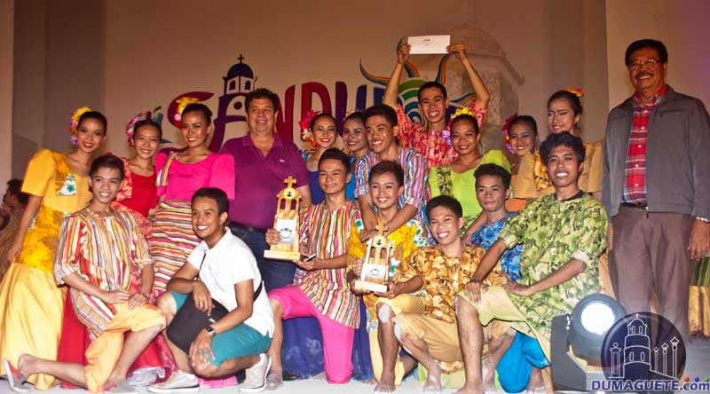Winner of the Folkdance Competition - Dumaguete Fiesta 2014