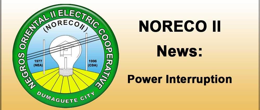NORECO II Power Interruption