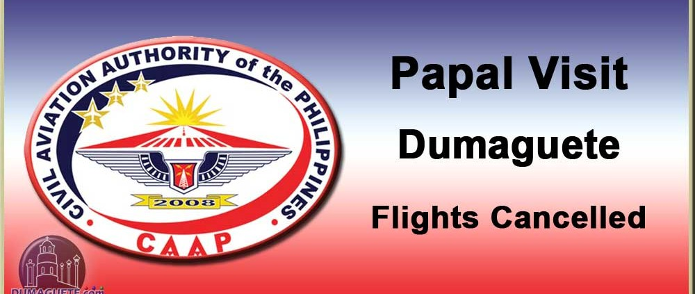 Dumaguete Flights Cancelled