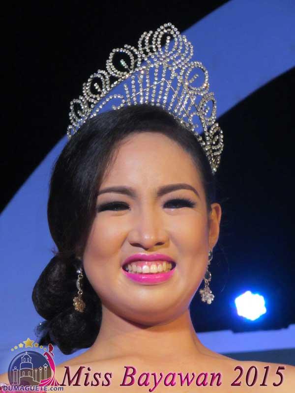 Miss Bayawan 2015 - Justine Rose Cabanban