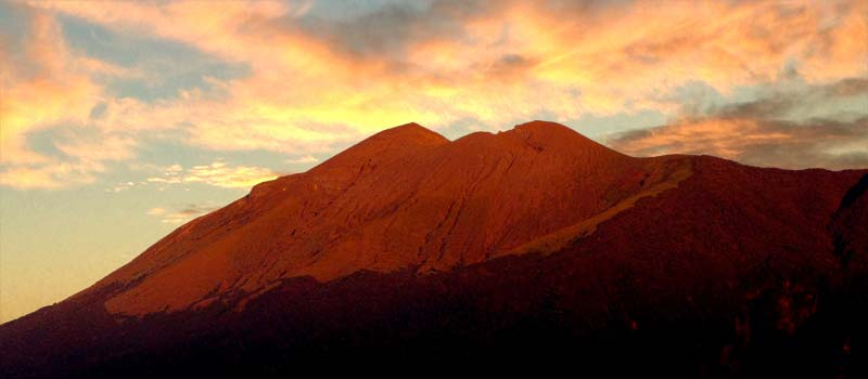 Mount Kanlaon at sunrise