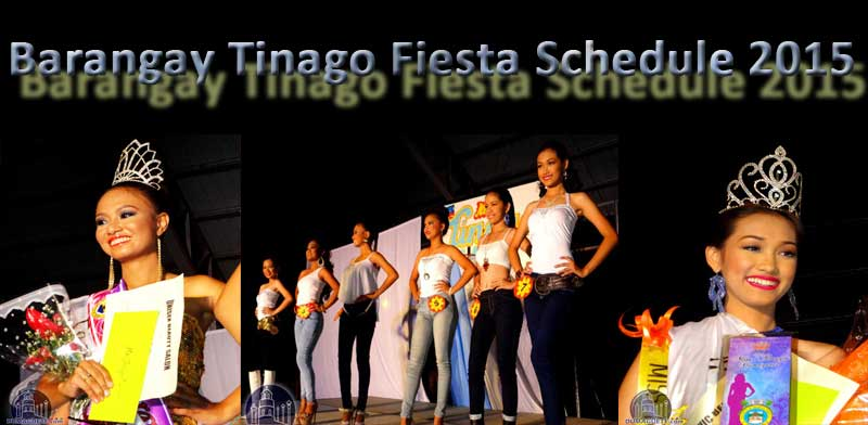 Barangay Tinago - Fiesta 2015
