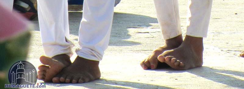 The Burning Feet of Bindoy
