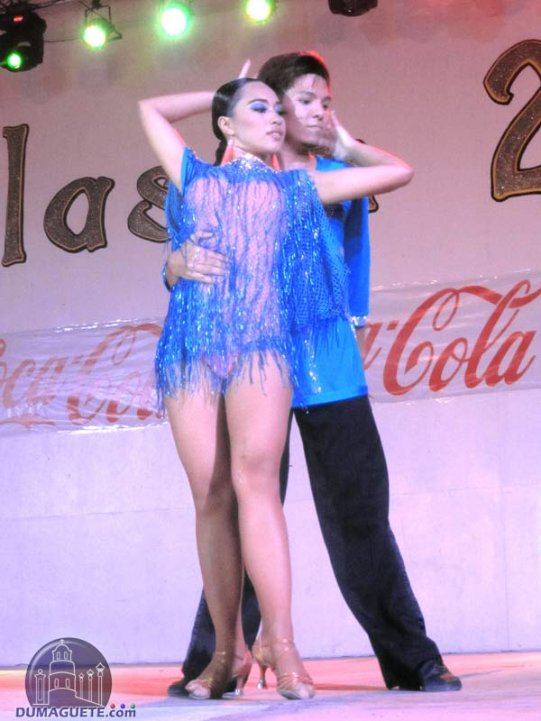 Ballroom dancing competition