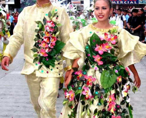 Kabulakan parade street Dance king and queene