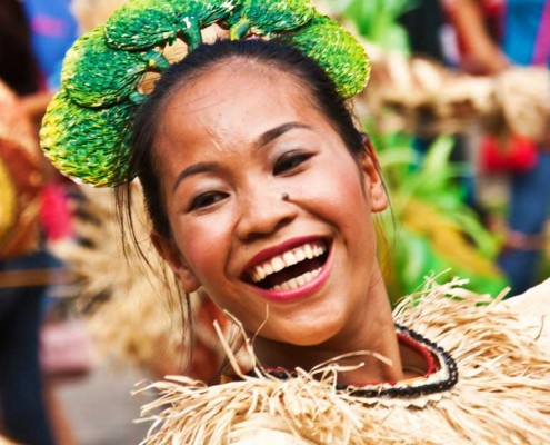 Bayawan Tawo tawo festival 2013 nice smile