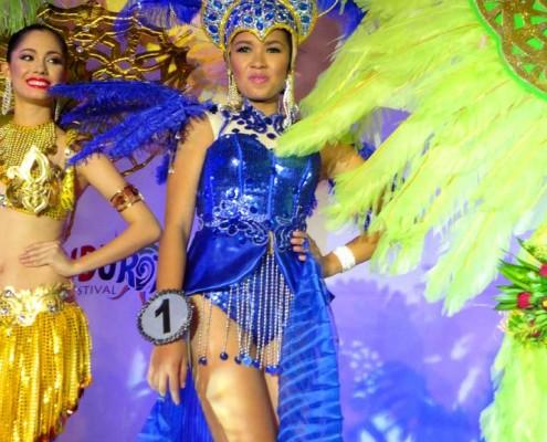 Miss Dumaguete 2013 Sandurot Festival Preparation