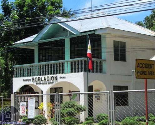 Amlan - Barangay Poblacion