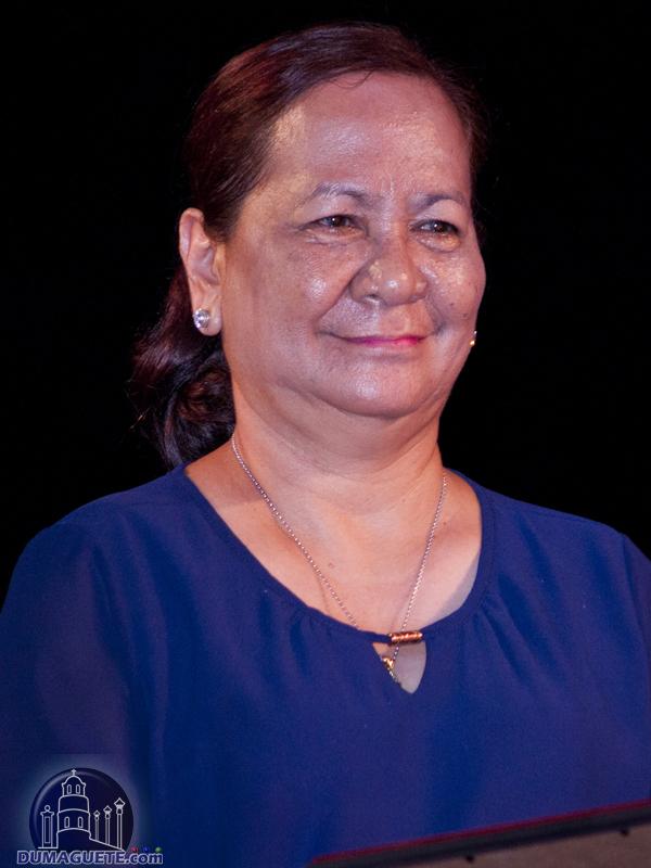 Bacong 2017 Mayor Hon. Jocelyn Alviola