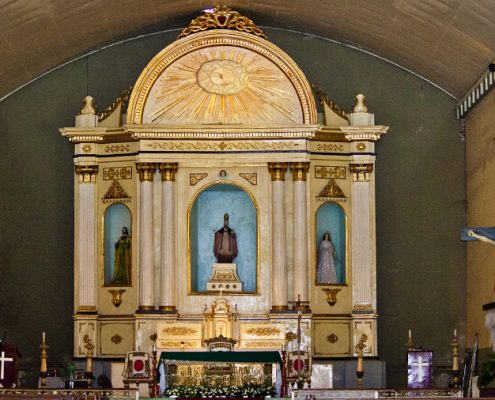 Bacong Negros Oriental Church Altar