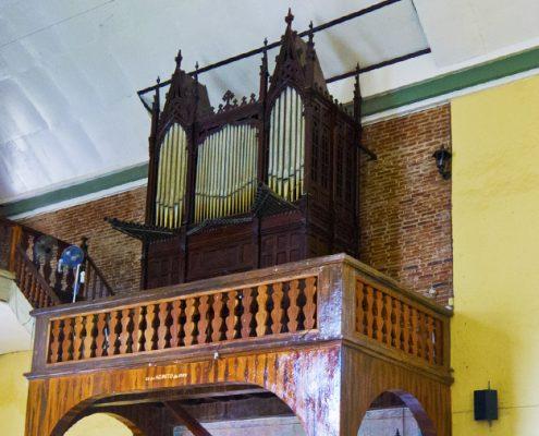 Bacong Negros Oriental Church bamboo organ