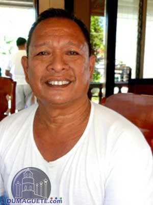 Barangay Captain Vincent Andrew Perigua