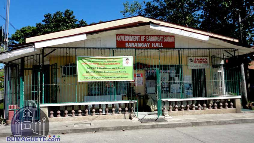 Barangay Hall in Buñao