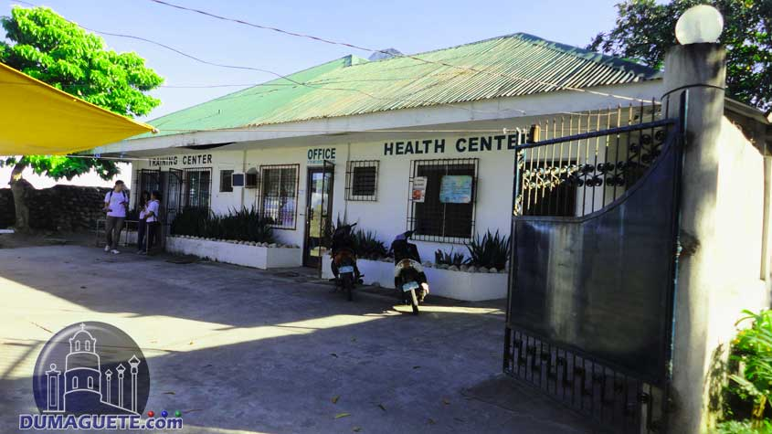 Calindagan Health Center in front of Barangay Hall