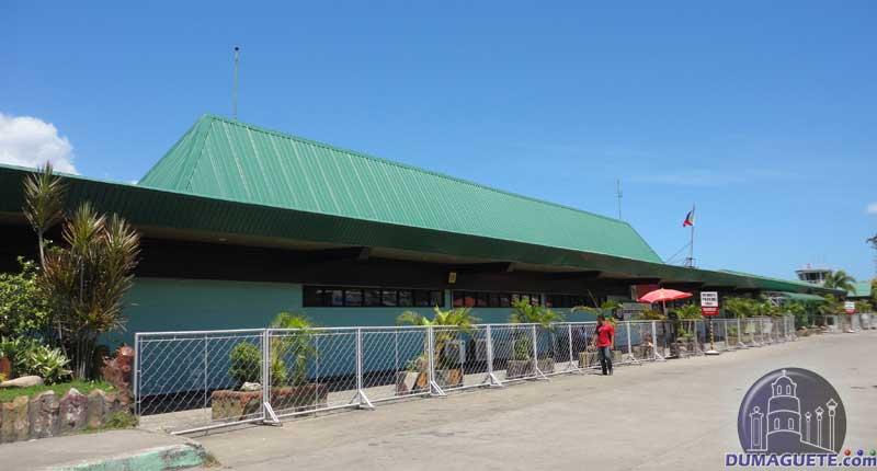 Dumaguete Airport in Sibulan