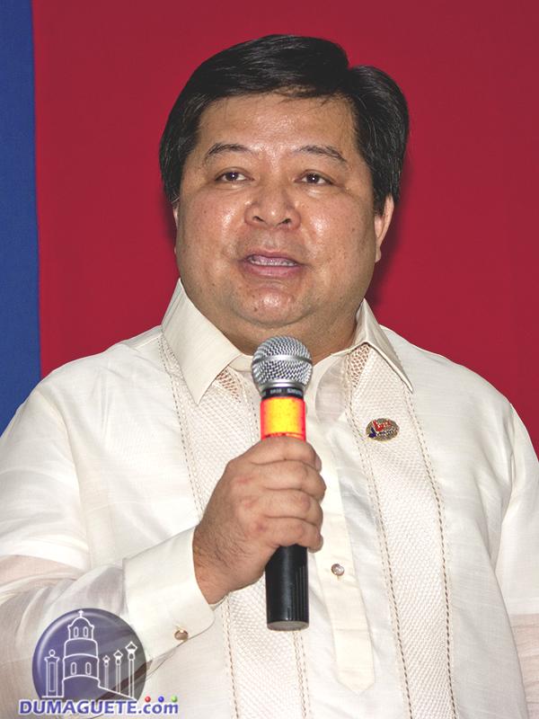 Dumaguete Mayor 2016 Felipe Antonio Ipe Remollo