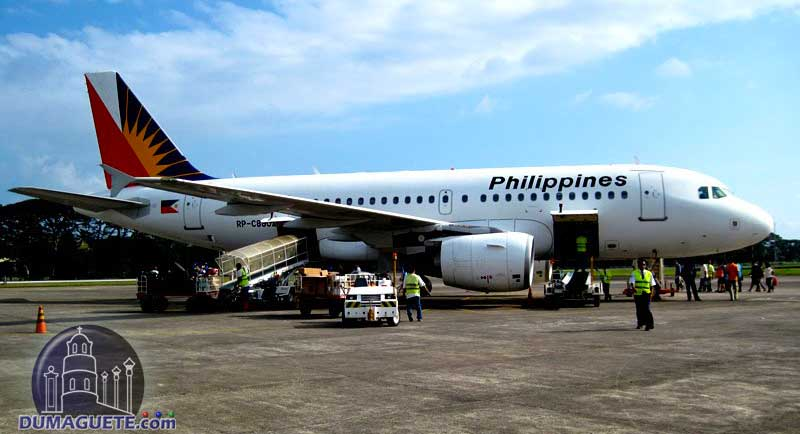 Philippine Airlines in Dumaguete